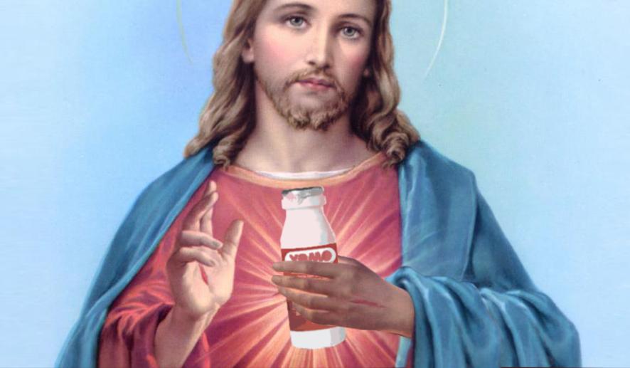 Sacro yogurt di Gesù