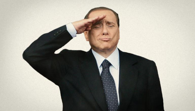 Silvio Berlusconi ci saluta