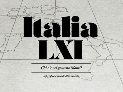 Chi c'è nel governo Monti?