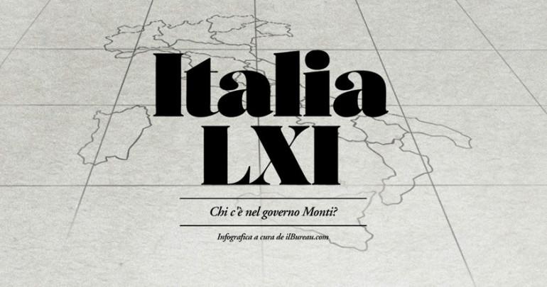 Italia XLI, Il governo Monti