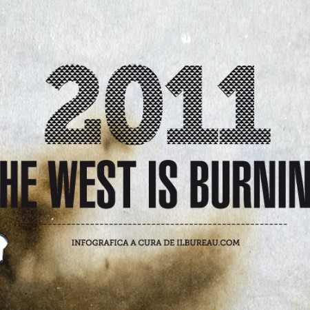 testata - il bureau - the west is burning infografica