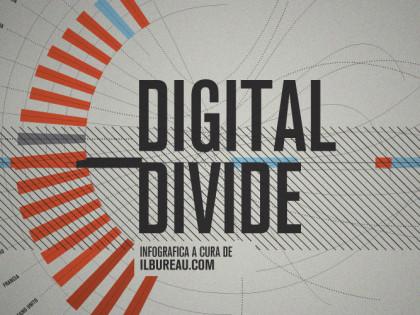 L&#8217;ITALIA E LA RETE.<br />Divario digitale, utilizzo di internet e e-government<br />Infografica