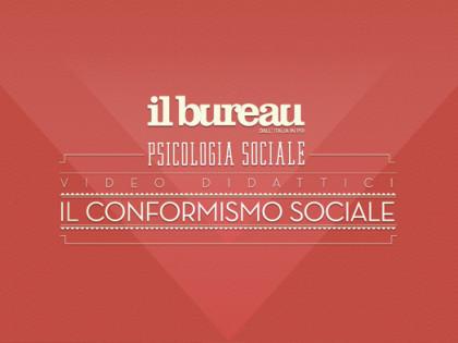 IL CONFORMISMO SOCIALE