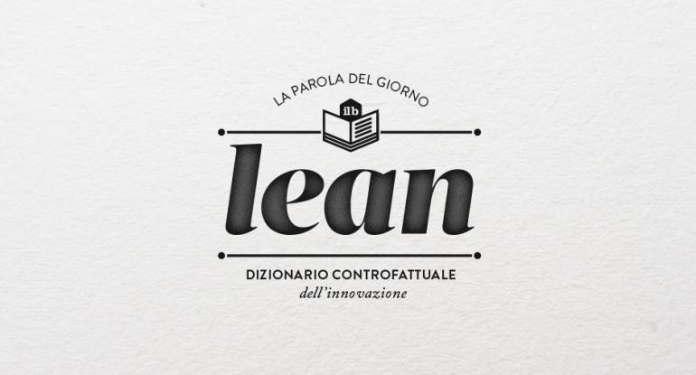 il bureau - dizionario - lean
