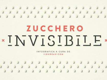 ZUCCHERO INVISIBILE<br />infografica