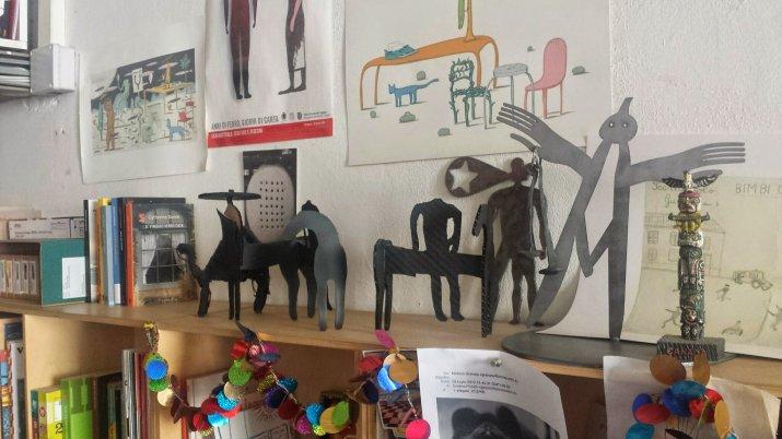 sculture di Guido Scarabottolo