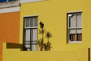 Particolare di casa a Bo Kaap