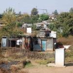 Soweto. Un campo di baracche
